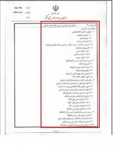 فهرست دوره های اموزشی کارکنان دولت-۳